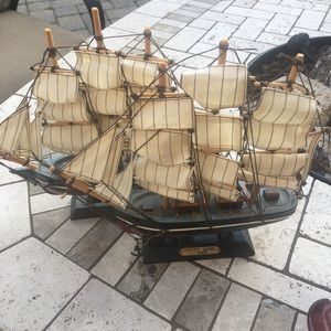 "Home Accent Model Sail Boat ""Cutty Shark"" Replica"